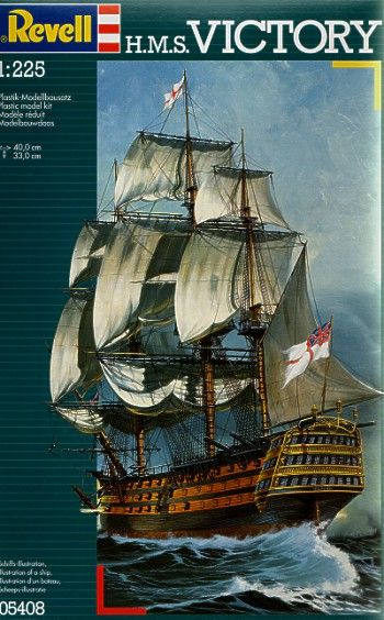 Revell 1/225 HMS Victory # 05408