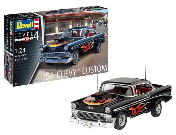 Revell 1/24 '56 Chevy Custom # 07663