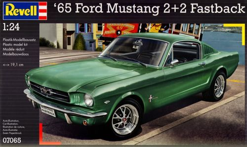 Revell 1/24 '65 Ford Mustang 2+2 Fastback # 07065