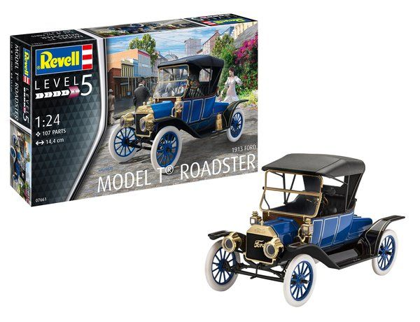 Revell 1/24 Ford Model T Roadster 1913 # 07661