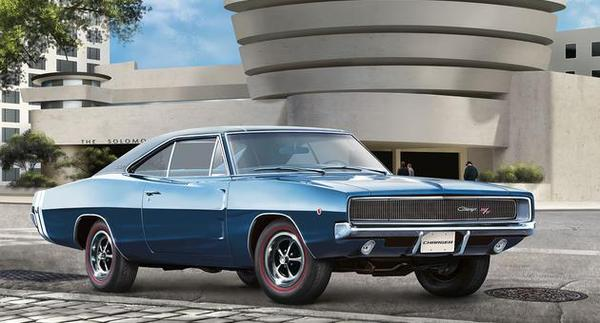 Revell 1/25 1968 Dodge Charger (2in1) # 07188