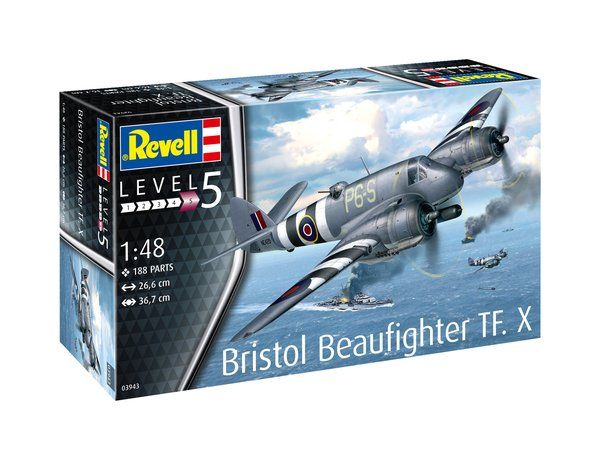 Revell 1/48 Bristol Beaufighter TF Mk.X # 03943
