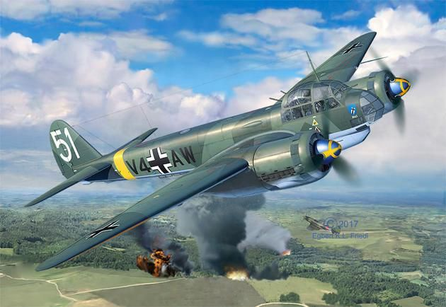 Revell 1/48 Junkers Ju88 A-4 # 03935