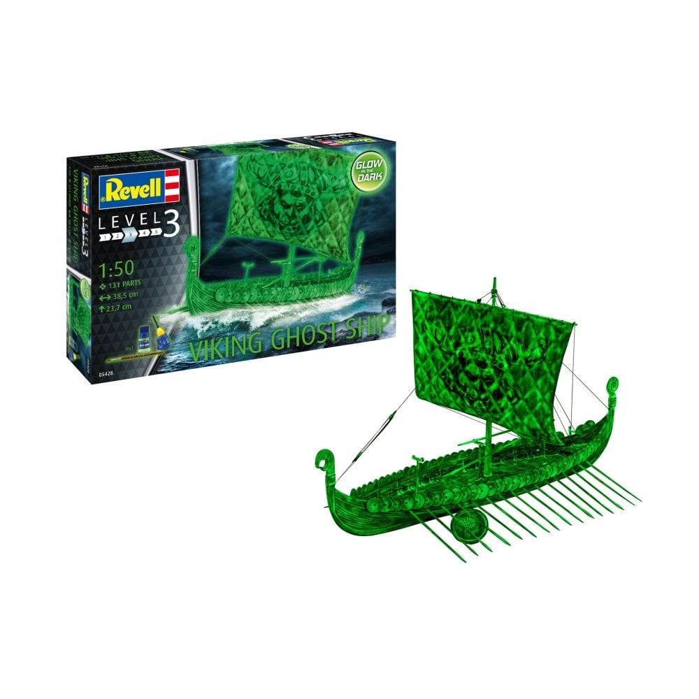 Revell 1/50 Viking Ghost Ship (Glow in the Dark) # 05428
