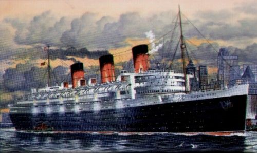 Revell 1/570 Queen Mary # 05203