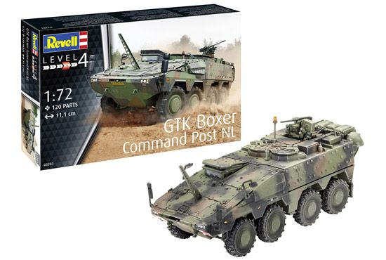 Revell 1/72 GTK Boxer Command Post NL # 03283