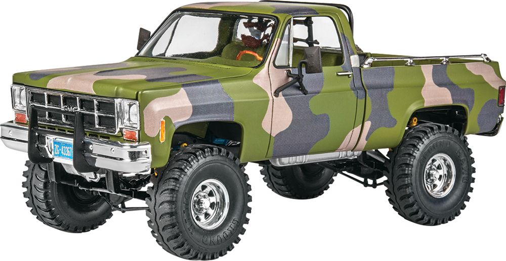 Revell Monogram 1/24 '78 GMC® Big Game Country Pickup # 85-7226