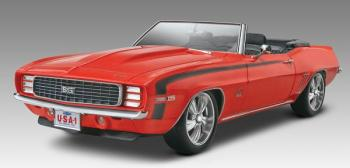 Revell Monogram 1/25 Motor City Muscle '69 Camaro SS/RS Convertible #85-4929