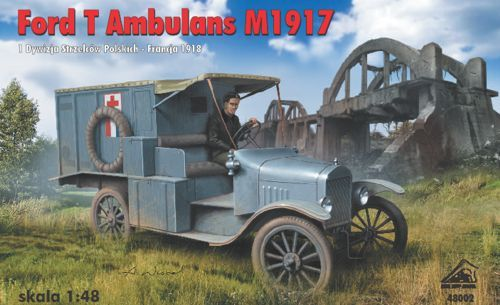 RPM 1/48 Ford T Ambulance M1917 # 48002