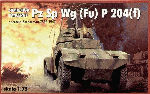 RPM 1/72 Pz. Sp. Wg. (Fu) P 204(f) # 72305