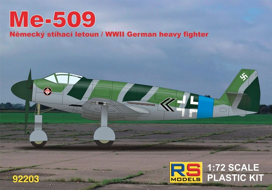 RS Models 1/72 Messerschmitt Me-509 # 92203