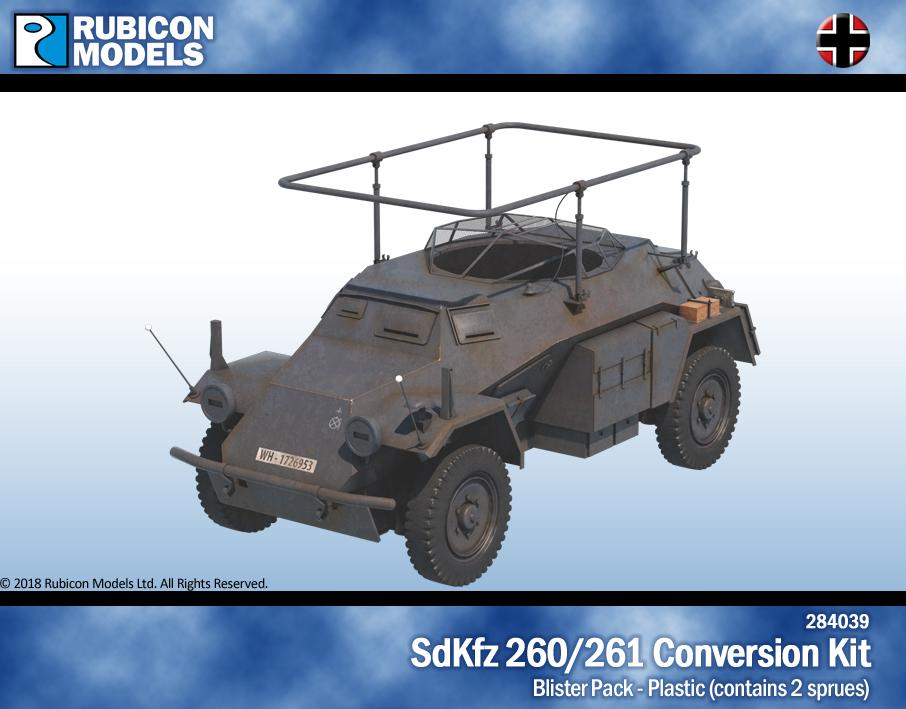 Rubicon Models 28mm Sd.Kfz. 260/261 Conversion Kit # 284039