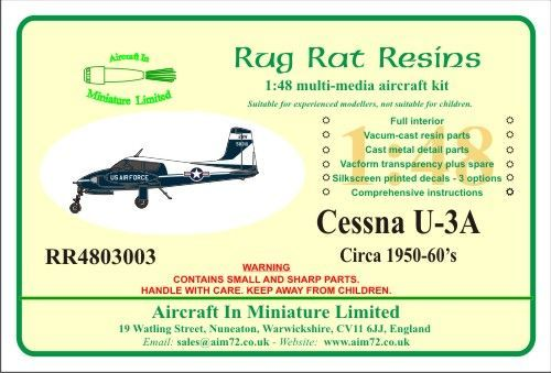 Rug Rat Resins 1/48 Cessna U-3A # RR4803003