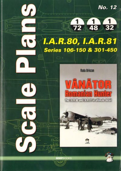 Scale Plans for I.A.R 80, I.A.R.81 Series 106-150 & 301-450