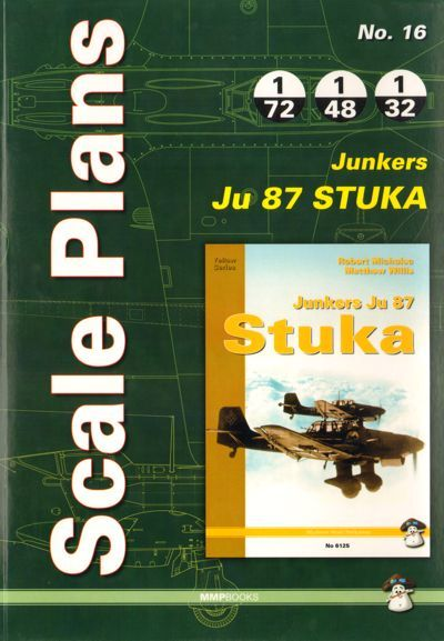 Scale Plans for Junkers Ju-87 'Stuka'