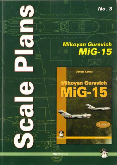 Scale Plans for Mikoyan MiG-15