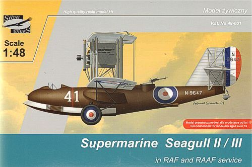 Silver Wings 1/48 Supermarine Seagull II/III in RAF and RAAF Ser
