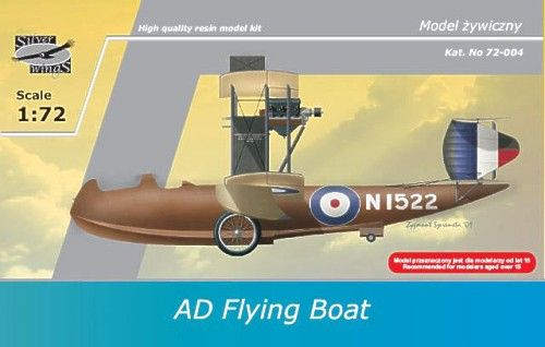 Silver Wings 1/72 AD Flying Boat 1915 RAF # 72004