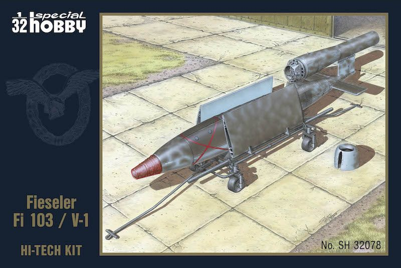 Special Hobby 1/32 Fieseler Fi-103/V-1 'Hi-Tech' Version # 32078