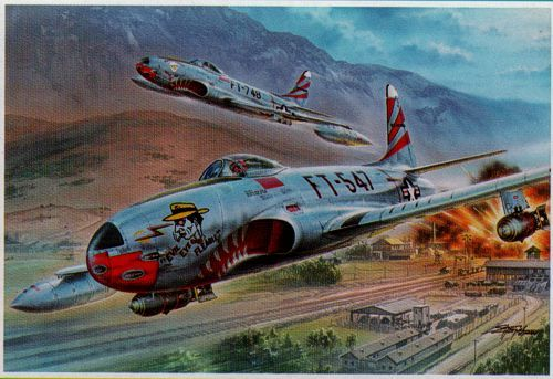 "Special Hobby 1/32 Lockheed F-80C ""over Korea"" # 32048"