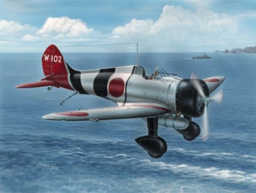 Special Hobby 1/32 Mitsubishi A5M4 Claude 'Hi-Tech Version' # 32039