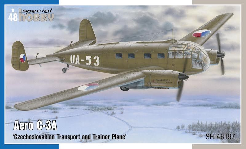 Special Hobby 1/48 Aero C-3A 'Czechoslovakian Transport and Trainer Plane' # 48197