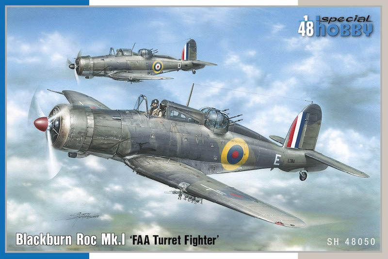 Special Hobby 1/48 Blackburn Roc Mk.I 'FAA Turret Fighter' # 48050