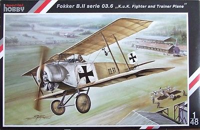 Special Hobby 1/48 Fokker B.II serie 03.6 'K.u.K' Fighter and Trainer Plane # 48040