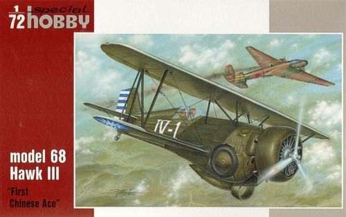 "Special Hobby 1/72 Curtiss model 68 Hawk III ""First Chinese Ace"" # 72223"