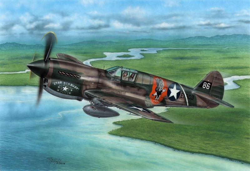 Special Hobby 1/72 Curtiss P-40E Warhawk 'Claws and Teeth' # 72338