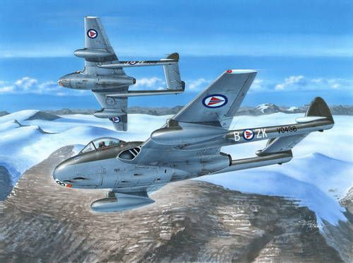 Special Hobby 1/72 D.H. 100 Vampire FB Mk.52 'In Northern Skies' # 72281