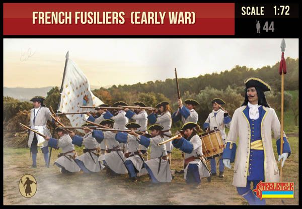 Strelets 1/72 French Fusiliers (Early War) # 236