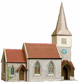 Superquick 1/72 Country Church (B29) # 99029