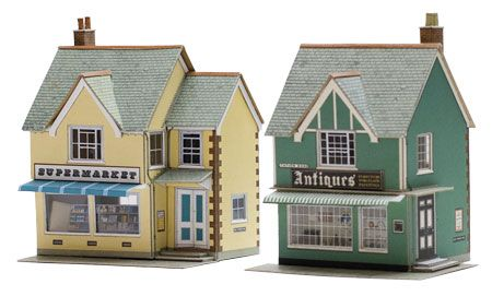 Superquick 1/72 Country Supermarket and Shop (B27) # 99027