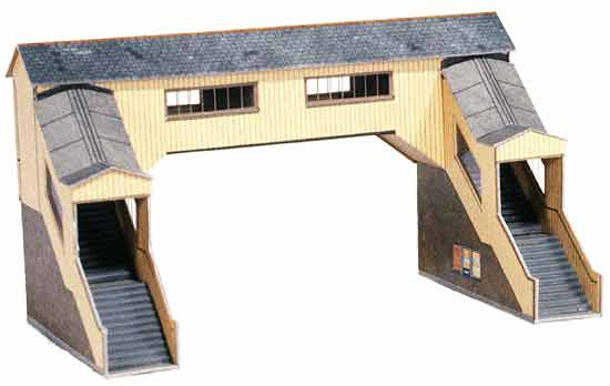Superquick 1/72 Covered Footbridge (A9) # 99008