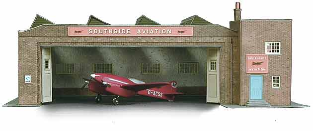 Superquick 1/72 Depot Building (B34) # 99034