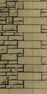 Superquick 1/72 Grey Rubble Walling Paper (D12) # 99082