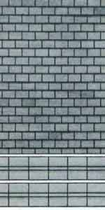 Superquick 1/72 Grey Slate Building Paper (D5) # 99075