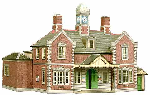 Superquick 1/72 Railway Terminus or Through Station (A10) # 99009