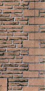 Superquick 1/72 Red Sandstone Walling Paper (D11) # 99081
