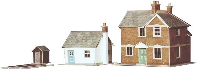Superquick 1/72 Station Masters House & Crossing Keepers Cottage (A11) # 99010