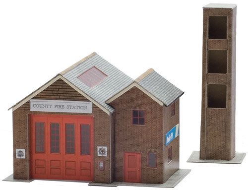 Superquick 1/72 The Country Fire Station (B36) # 99036