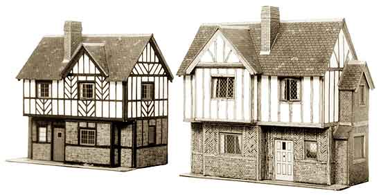 Superquick 1/72 Two Elizabethan Cottages (B28) # 99028