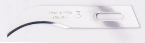 Swann Morton - Curved Blade for Handle No.1235 # 1243
