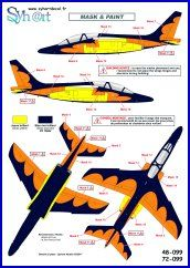 "Syhart 1/72 Dassault-Dornier Alpha Jet AT12 ""75 Years 11Sqn # 72099"