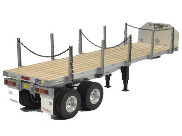Tamiya 1/14 Flat Bed Semi-Trailer # 56306