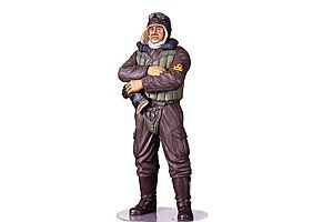 Tamiya 1/16 WWII Imperial Japanese Navy Fighter Pilot # 36312