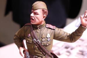 Tamiya 1/16 WWII Russian Field Commander # 36314