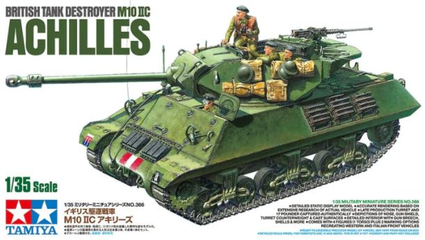 Tamiya 1/35 M10 IIC Achilles British Tank Destroyer # 35366