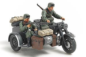 Tamiya 1/48 German Motorcycle & Sidecar # 32578